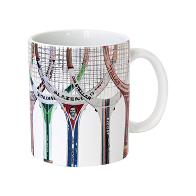 Sporting Nation Racquet Line Up Coffee Mug