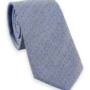 Scotch & Soda Classic Striped Tie in Light Blue