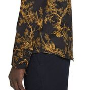 Scotch & Soda All-Over Printed Toile de Jouy Shirt Regular Fit Side Detail