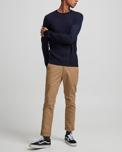 NN07 / Ted 6120 Merino Wool Sweater / Navy Blue