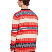 Multicoloured Structured Pullover