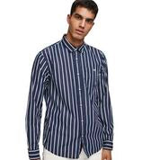 Load image into Gallery viewer, Scotch & Soda Classic Breton Stripe Shirt Regular Fit Combo C Front Side
