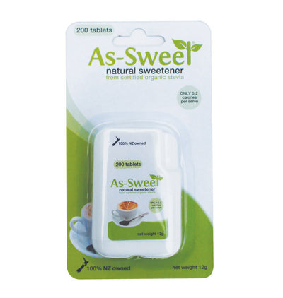 As-Sweet Tablets x 200 Tablets