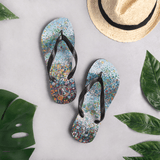 """Blooming Fields"" Original Art Print Flip-Flops"