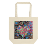 """Heart"" Certified Organic Original Art Eco Tote Bag"