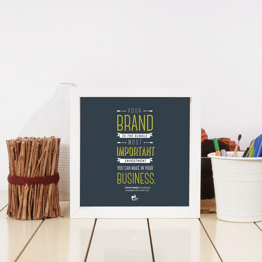 your brand frame