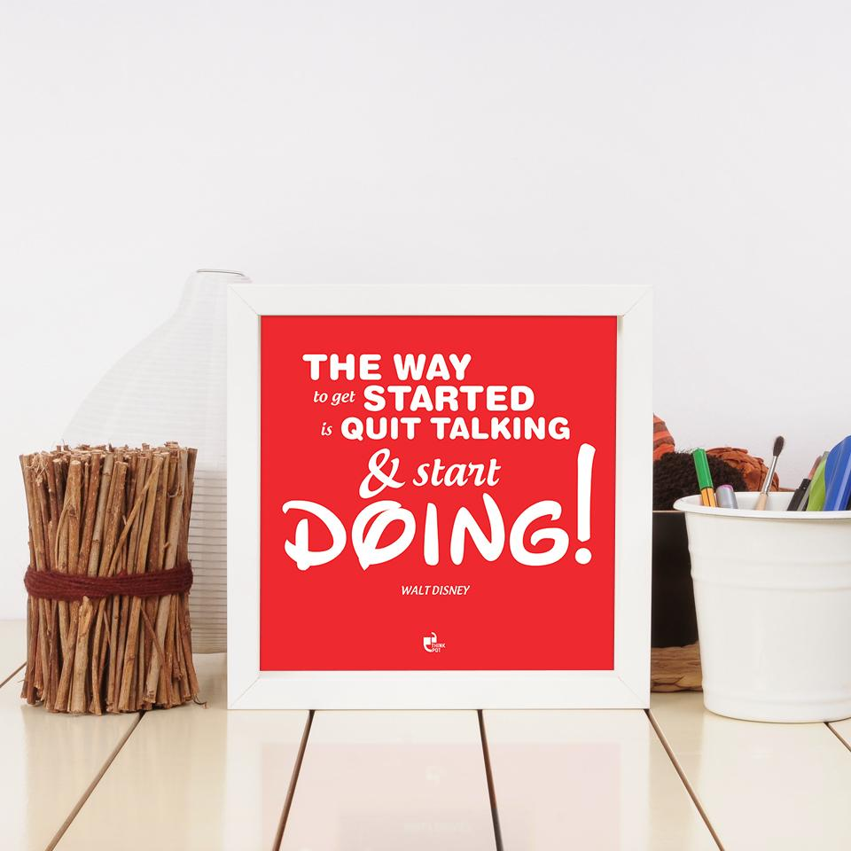 the way to get started frame