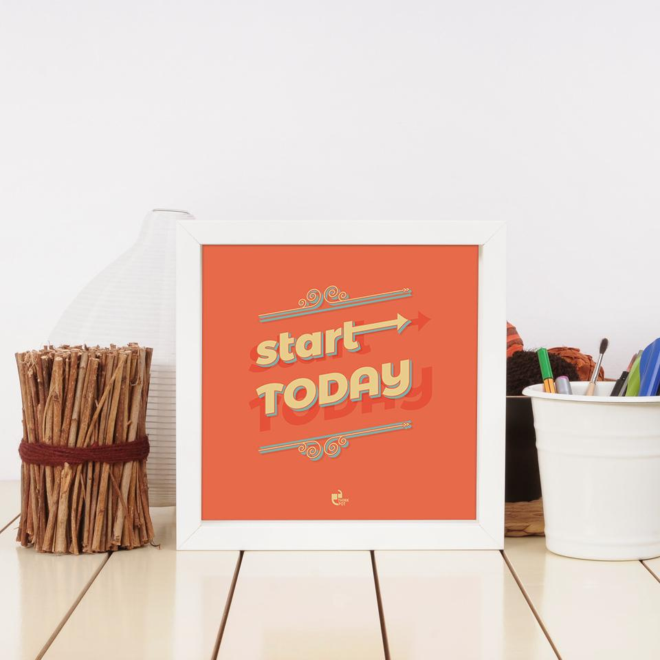 start today frame