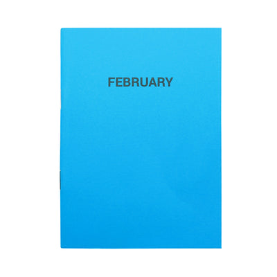 Monthly Planner Notebooks (Set of 12)
