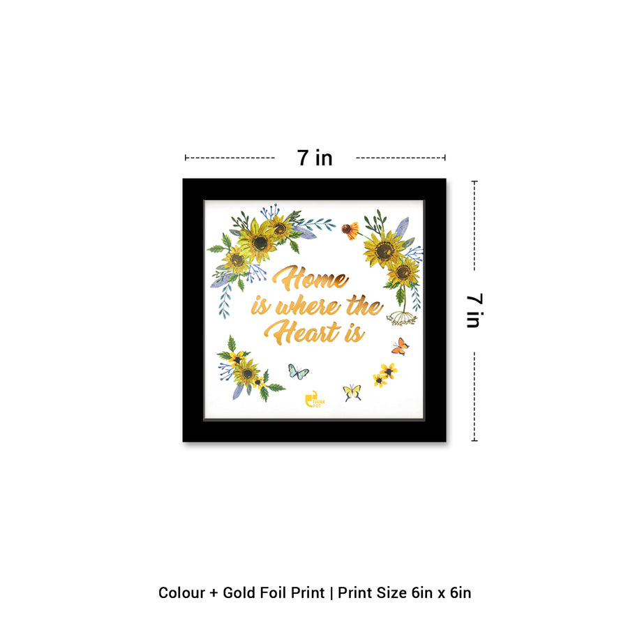Home Gold Series Black 6X6 Frame