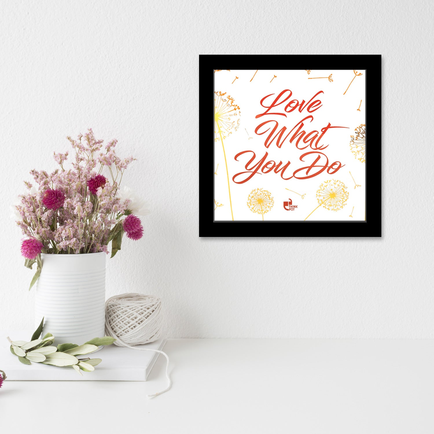 Love Gold Series Black 6X6 Frame