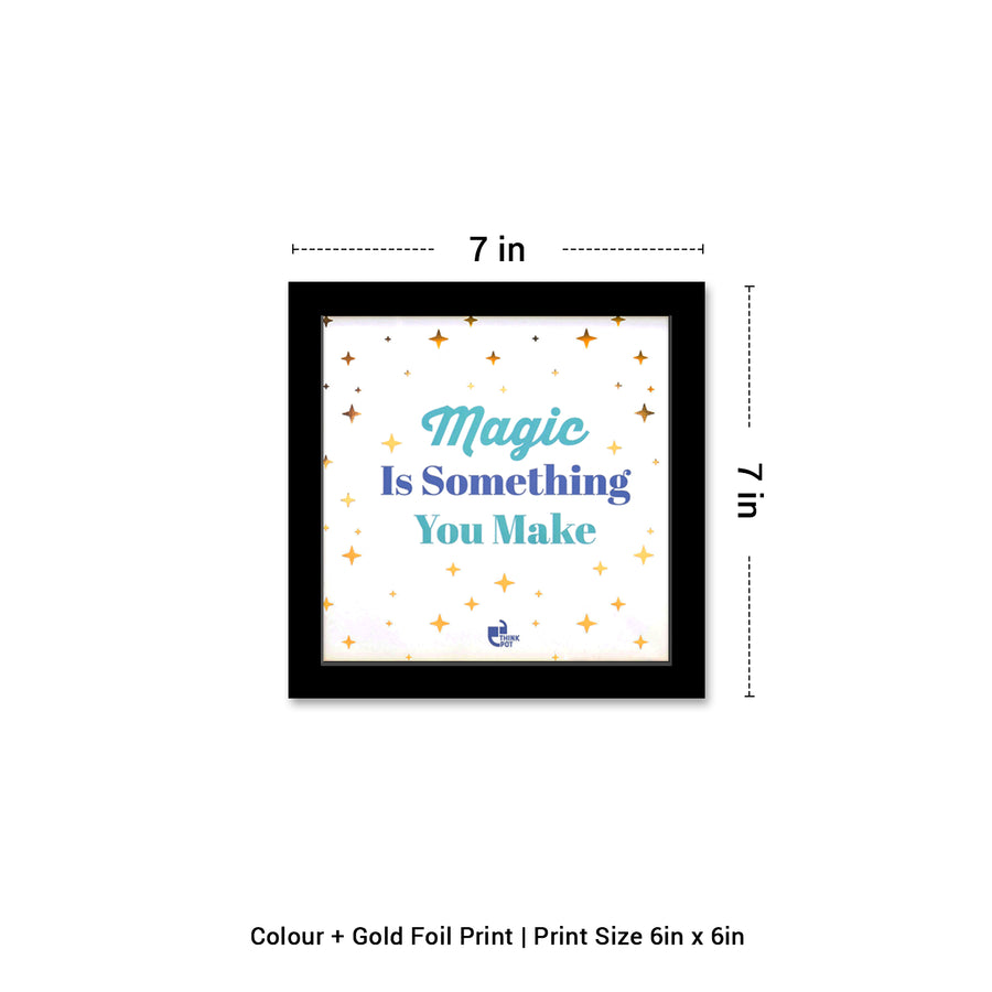 Magic Gold Series Black 6X6 Frame