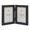 Wenge Double Photo Frame 6X4