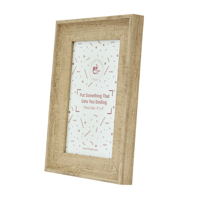Brown Wood Photo Frame 6X4