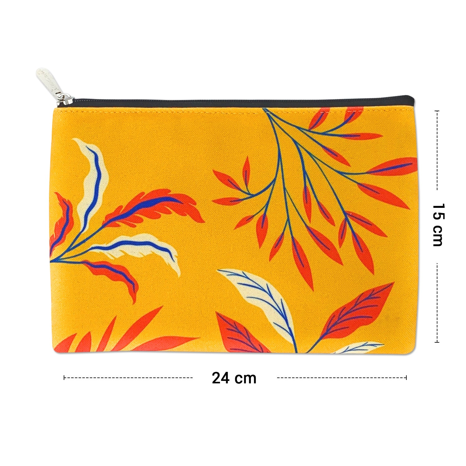 Autumn Canvas Large Pouch