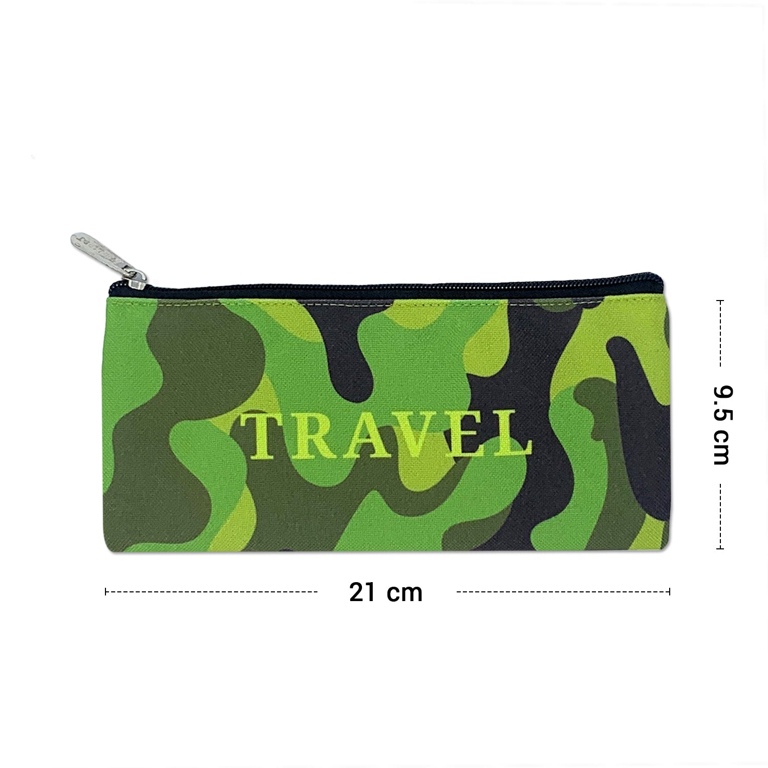 Travel Camo Canvas Pouch Combo ( Set of 2)