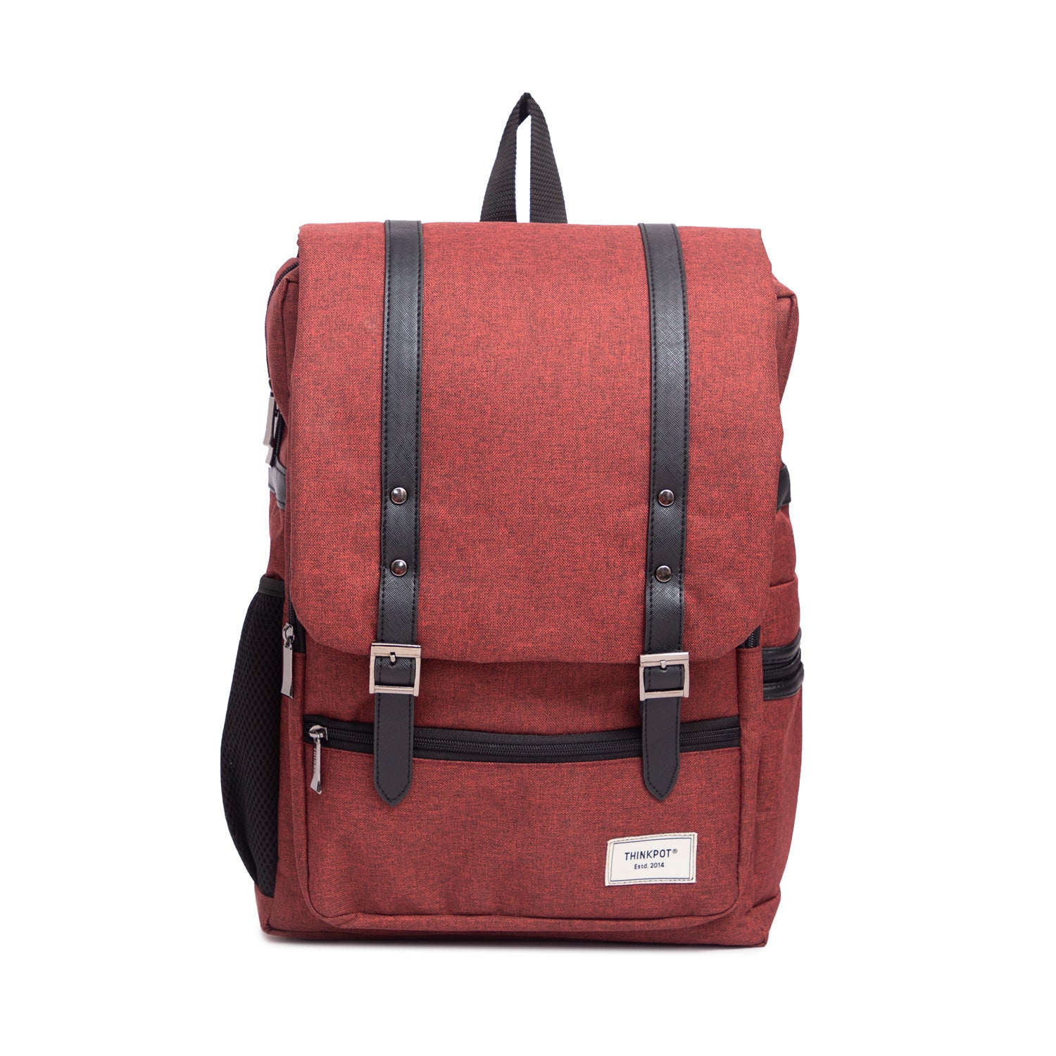 "Red Dynamic 15.6"" Laptop Bag"