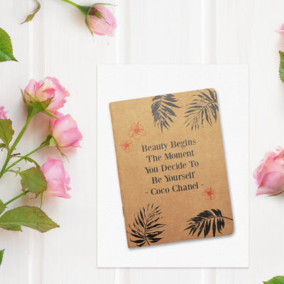 Beauty A6 Kraft Book