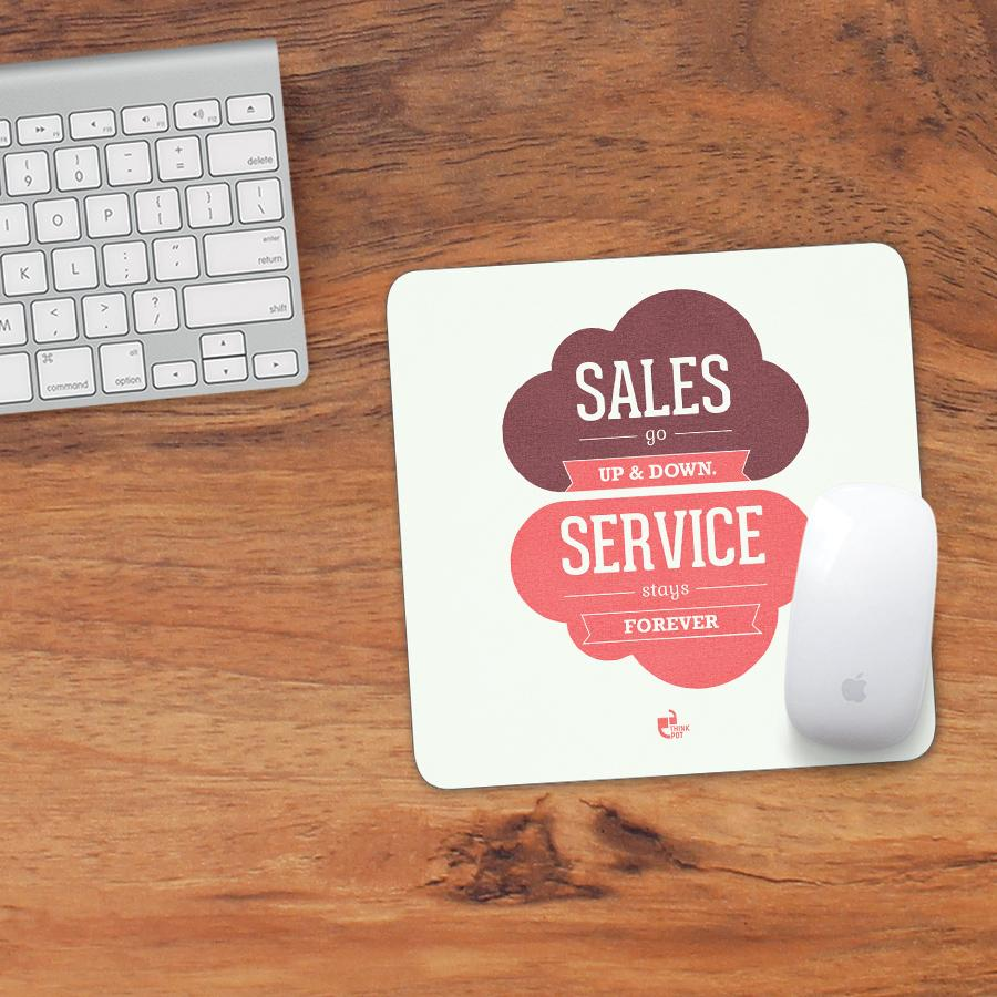 Sales mousepad