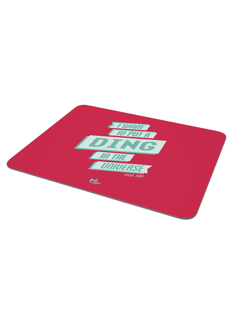 Ding mousepad - Steve Jobs