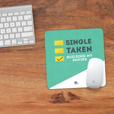 Single taken mousepad