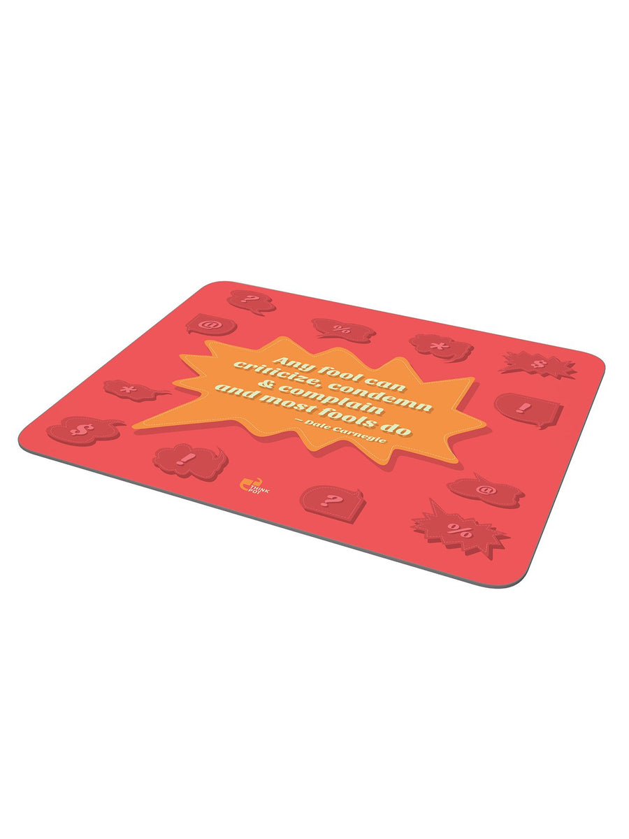 Any fool mousepad - Dale Carnegie