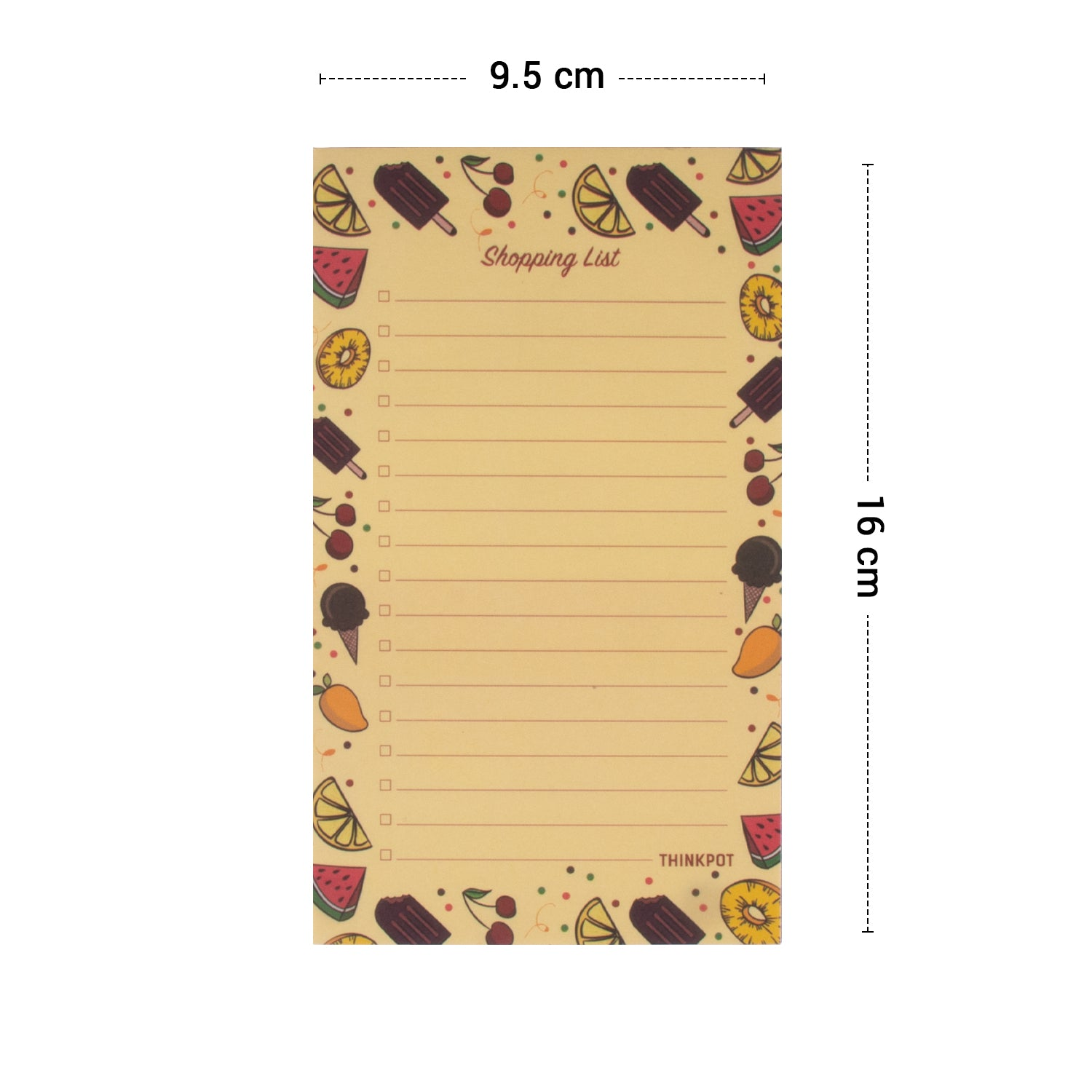 Shopping List Magnetic Pad