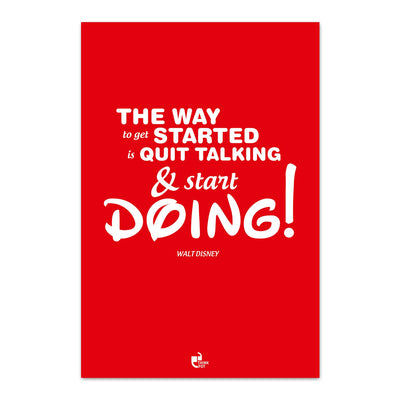 The way to get started Poster