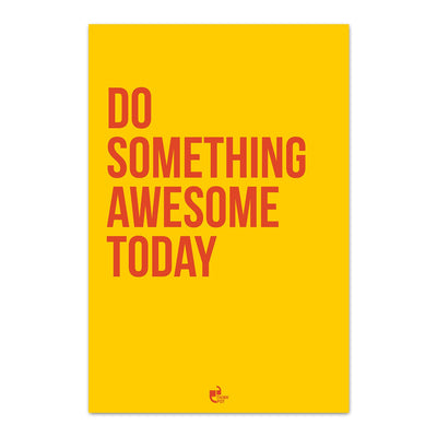 Do something awesome Poster