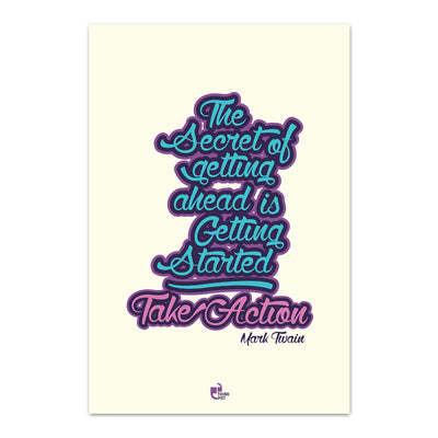 Secret of getting ahead Poster