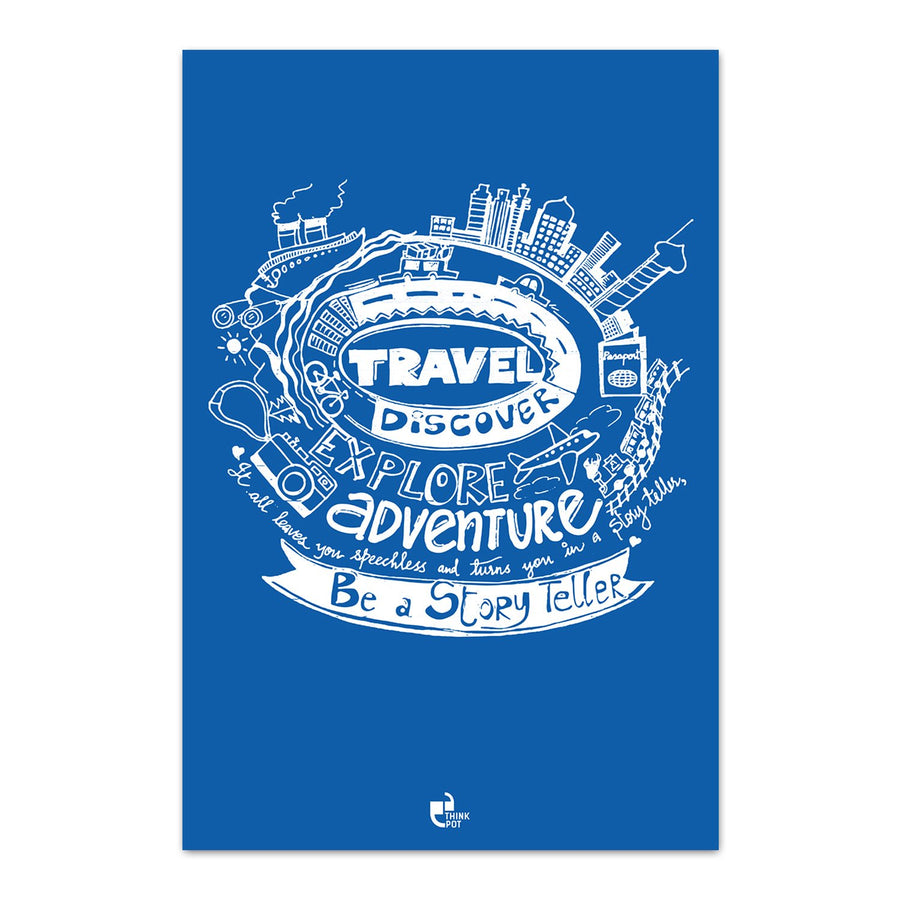 Travel Explore Discover Poster