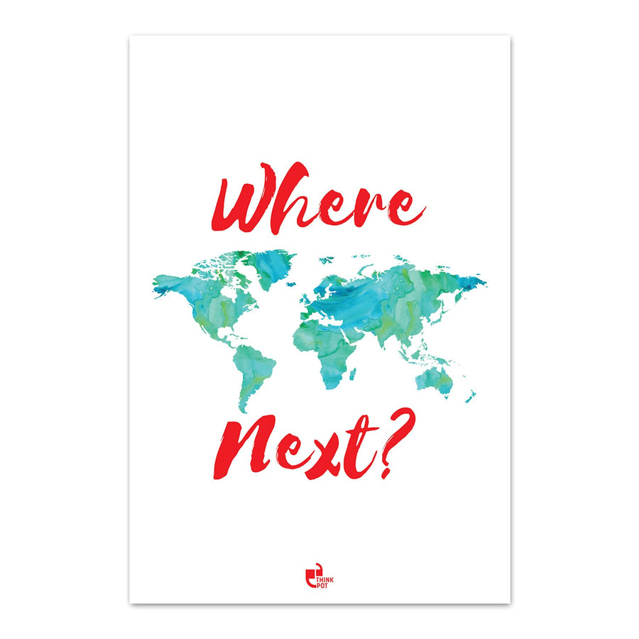 Where next Poster