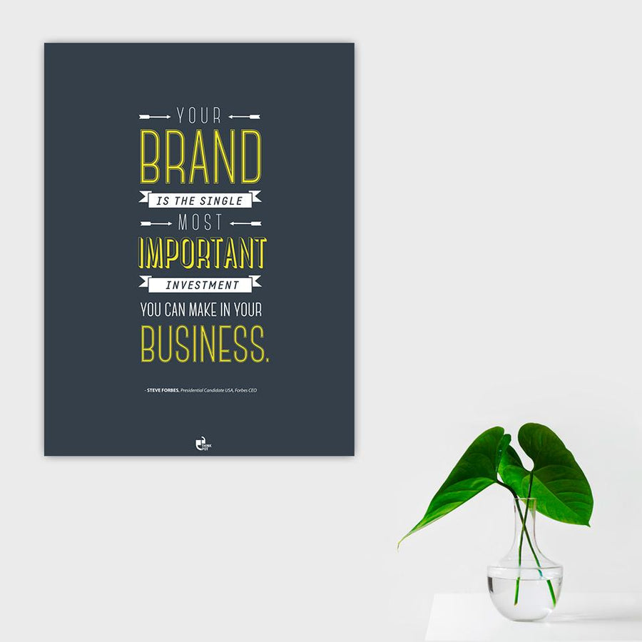 Your Brand Poster - Steve Forbes