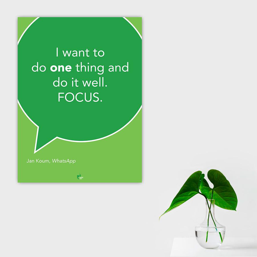 I want Poster - Jan Koum