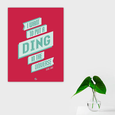 Ding Poster