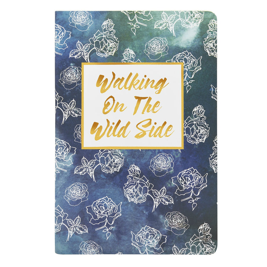 Walking On The Wild Notebook