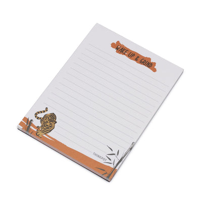 Wake up & grind A6 Memo Pad