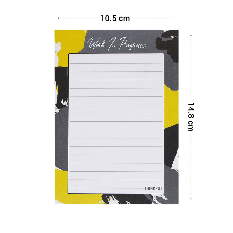 Work in progress A6 Memo Pad