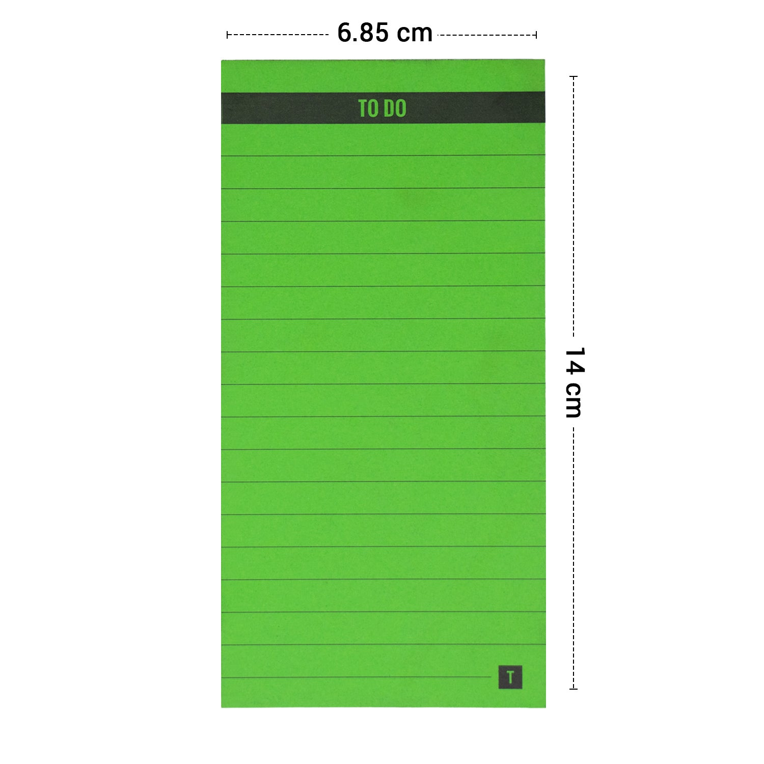 To Do Green Memo Pad