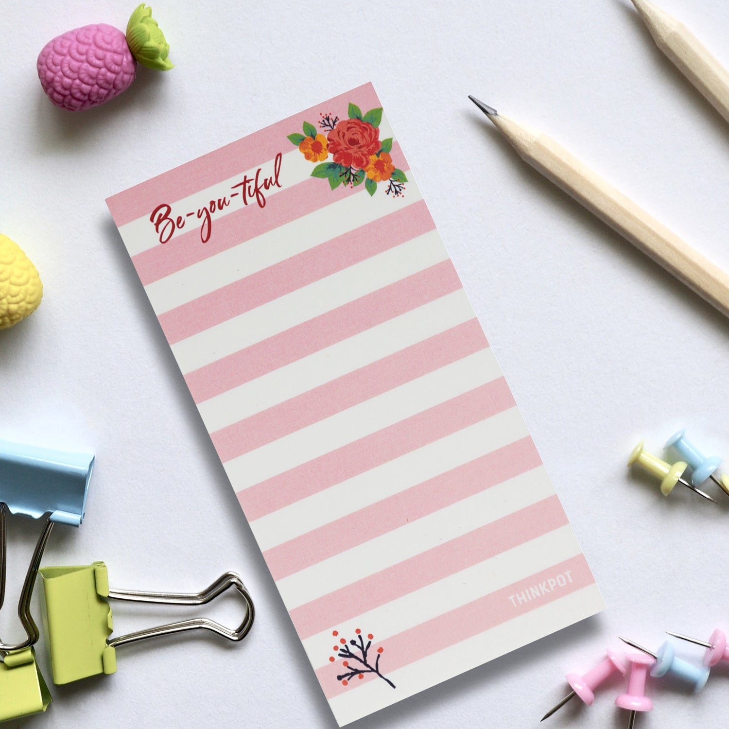 Beyoutiful Pink Memo Pad