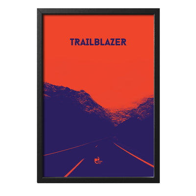 Trailblazer Black Rectangular Frame