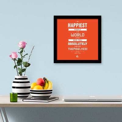 the happiest people frame