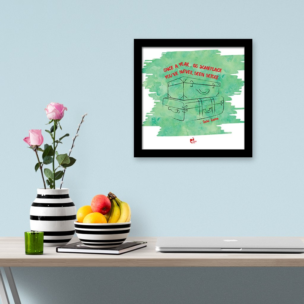 go someplace frame