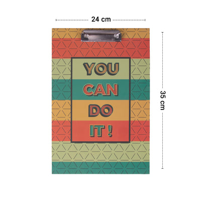 You can do it Exam Writing Pad