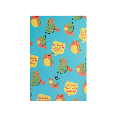 Be Brave Large Exam Writing Pad