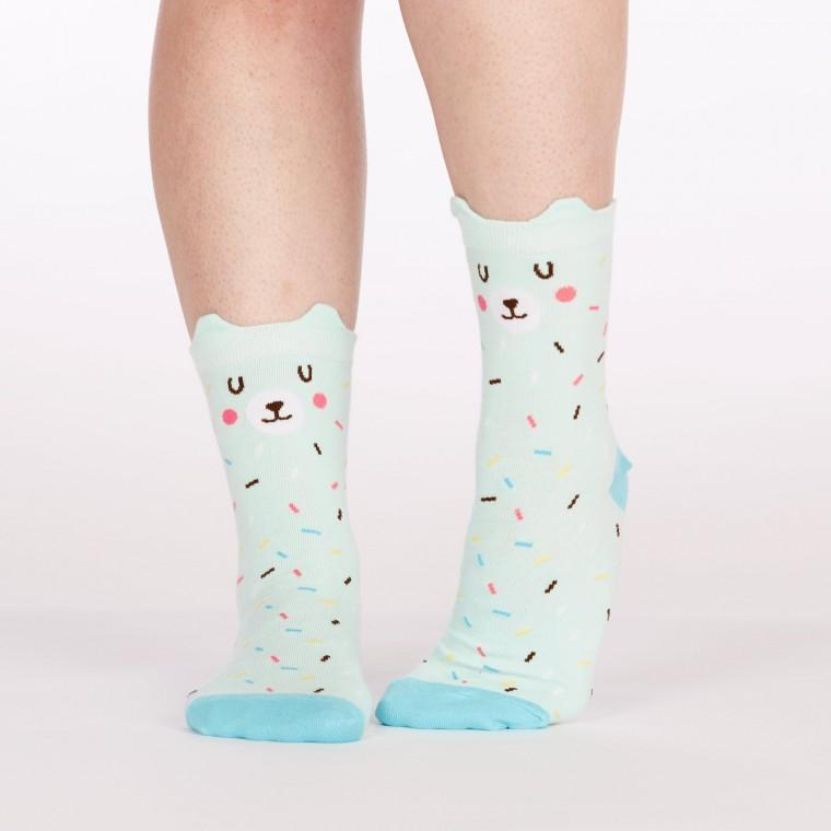 Beary Sprinkles Socks Socks Sock It To Me Junior (Shoe 1-5)