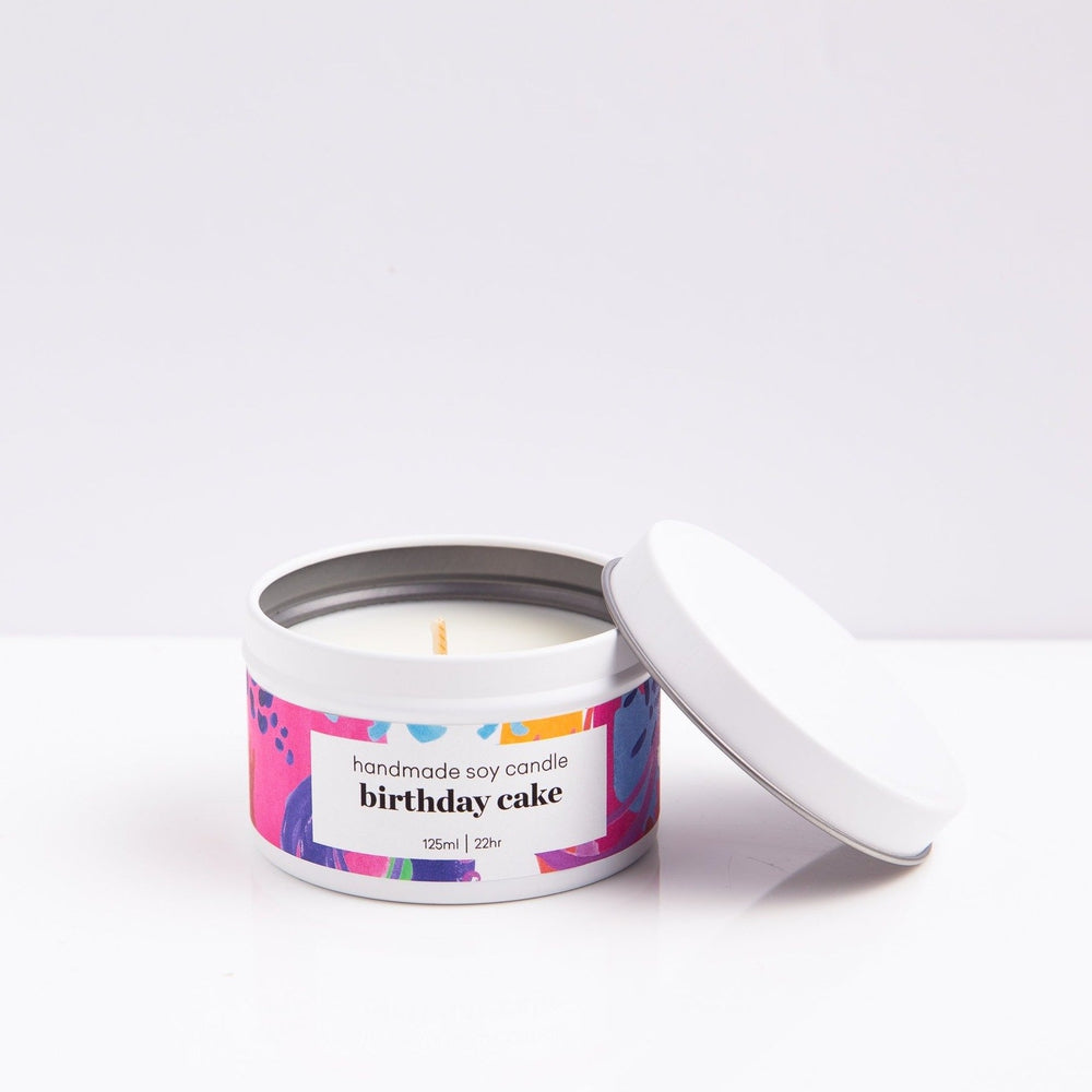 Birthday Cake Scented Candle Candles Sweet Magazine