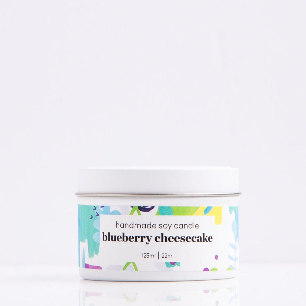 Blueberry Cheesecake Scented Candle Candles Sweet Magazine