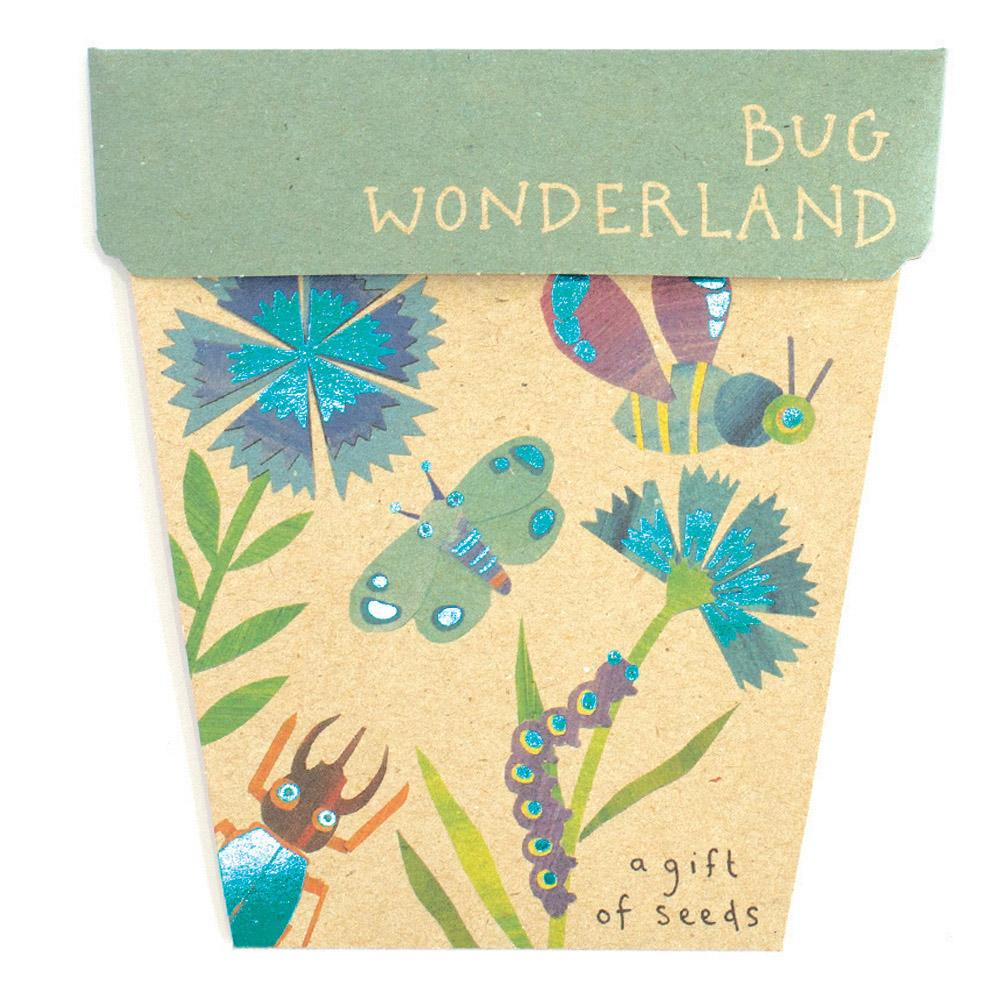 Bug Wonderland Children's Gift of Seeds Greeting Card Greeting Card Sow 'n Sow