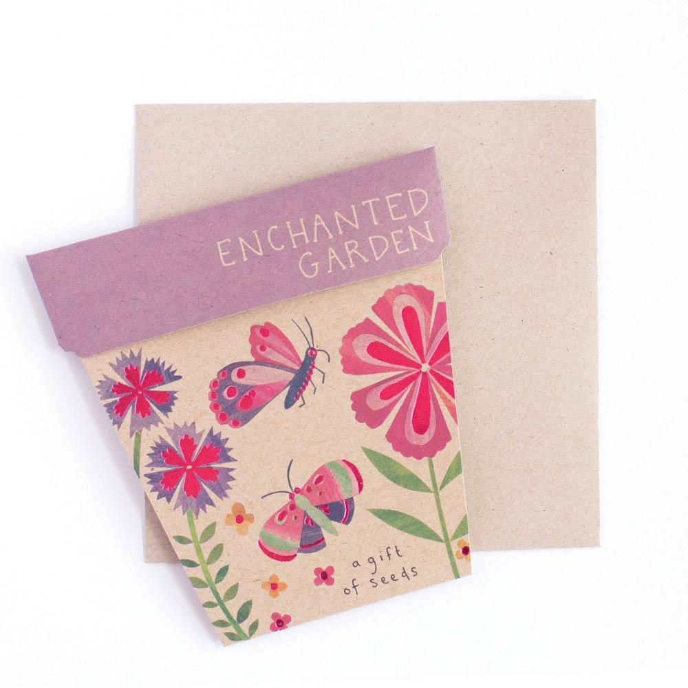 Enchanted Garden Gift of Seeds Greeting Card Greeting Card Sow 'n Sow